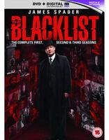 The Blacklist Temporadas 1 To 3 DVD Nuevo DVD (cdrp68965uv)