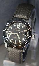 RARE Vintage Jaeger 20 ATM Dive Watch Date Diver French Market LeCoultre 60-70's