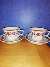 Adams Old Colonial 2 Cups & Saucers