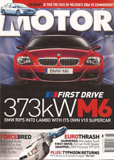 Motor Jun 05 M6 SL65 GS430 Swift S A4 F430 WRX XR6 Evo IV 998 911 350Z M3 Comp