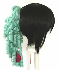 18'' Ringlet Curly Pony Tail Clip Mint Green Cosplay Lolita Wig Clip Only NEW