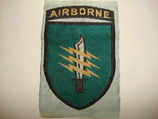 "ARVN SF C-2 2nd MOBILE STRIKE FORCE COMMAND ""AIRBORNE"" - Vietnam War Silk Patch"