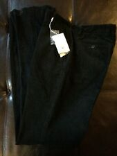 Nwt Cutter & Buck Corduroy Pant Mens 34 X Unfinished Black 100% Cotton C3