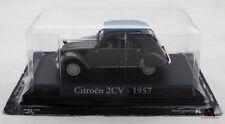 Miniature IXO Voiture CITROEN 2CV 1957 Echelle 1/43e Diecast Metal
