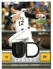 2008 UPPER DECK Series 2 Baseball Freddy Sanchez Pittsburgh Pirates Jersey