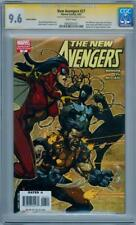 NEW AVENGERS #27 RETAIL VARIANT CGC 9.6 SIGNATURE SERIES SIGNED BENDIS RONIN