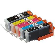 5pk Ink Cartridge For Canon  PGI-250XL CLI-251XL Pixma MG5420 MG5520 MX722 MX922