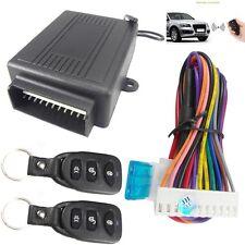 Black New Car Door Lock Locking Keyless Entry System Remote Control Central Kit