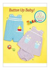 Kwik Sew SEWING PATTERN K220 Baby Overalls, Dress & Panties 0-24 Months
