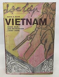 Vietnam State War and Revolution 1945-1946 - 1st Indochina War - Brand New HC