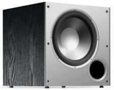 Polk Audio PSW10 10-Inch Powered Subwoofer High Amplifier Big Bass(Single,Black