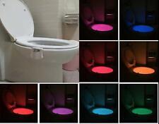 LED Toilettendeckel WC Sitz Nachtlicht Klobrille Klodeckel Disco Licht 8 Farben