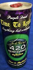 2008 420 Energy Drink FULL RARE Collectors Jack Herer Died 2010 Cocaine Cannabis