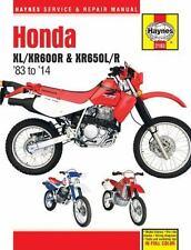 HAYNES HONDA XL/XR600R & XR650L/R '83 TO '14 SERVICE AND REPAIR MANUAL - AHLSTRA