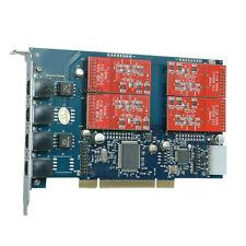 TDM410P 4FXO Asterisk card PCI card for elastix trixbox freepbx voip pbx