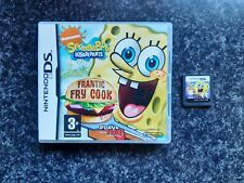 Spongebob Schwammkopf Frantic Frittieren Nintendo DS Spiel