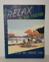 Vintage Relax In New England After The World's Fair Brochure