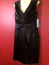 LONDON TIMES Women's Black Sleeveless Dress - Size 10 - NWT