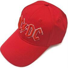 Baseball Cap AC/Dc Hat Red, Music Souvenir, New