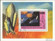 The Ivory Coast block17 (complete issue) used 1981 Space