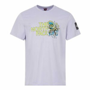 North Face T-Shirt Metro Ex Graphic - Lavender