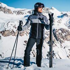 Dare 2B Men's Denote Waterproof Insulated Hooded Ski Jacket - Grey Ebony Black