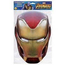 The Avengers - Cardboard Face Mask (IRON MAN)