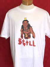 Rare Limited Edition Lil Wayne T-shirt cartoon funny hip hop rap Nola Cash Money