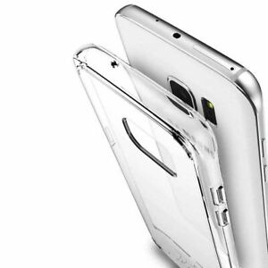 Samsung Galaxy S6/S7/S8/S9/S10/S21/S20 FE/Note 20 10 9 Case Clear Soft TPU COVER