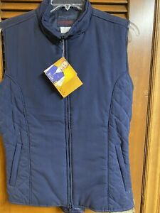 Dublin Equestrian Riding Vest Womens Size Large New Navy