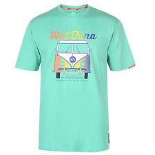 NEW SUMMER Hot Tuna Mens Logo T Shirt Tee Top Short Sleeve Round Neck Mint Campe