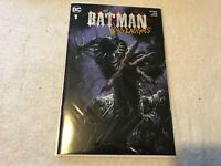 THE BATMAN WHO LAUGHS 1 Clayton Crain trade cover 1st Grim Night DC comic book