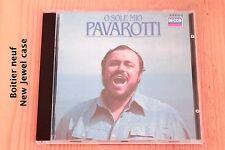 Luciano Pavarotti - O Sole Mio - 13 titres - Boitier neuf - CD Decca