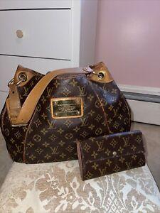 Louie Vuitton Galleria GM hobo and Sarah Wallet
