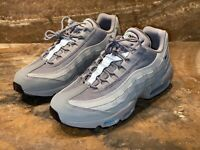 "Nike Men's Air Max 95 ""Logo Pack"" Size US Mens 10 Grey Black Blue CV1635-001"