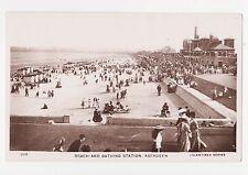 Rppc,Aberdeen,Scotland,U. K.Beach and Bathing Station,c.1909