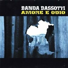 BANDA BASSOTTI  - AMORE E ODIO  CD POP-ROCK ITALIANA
