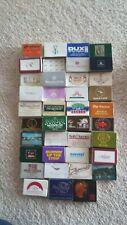 Matchboxes x 49 Australian Small Advertising Boxes-Neros-QANTAS-Sheraton +
