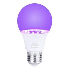 LED Schwarzlicht UV Blacklight Birne E27 Lampe Glow Party DJ Disco Bühnenlicht