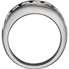 7 Diamond Wedding Ring Anniversary Band 0.14 ct each F VS 1.00 tcw