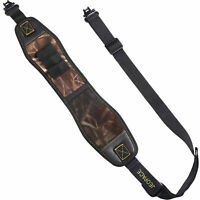 Camouflage Gun Sling with Swivels,Durable Shoulder Padded Strap,Length Adjuster