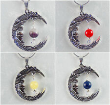 Chakra Gemstone Amethyst Costume Necklaces & Pendants