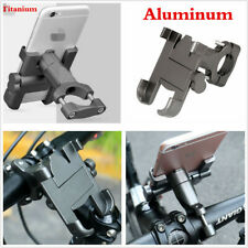 Titanium Aluminum Motorcycle Scooter Handlebar Mount Holder for Cell Phone GPS