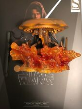 Hot Toys Star Wars Anakin Skywalker Dark Side LED Lava Diorama loose 1/6th scale