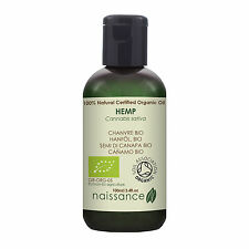 Naissance Hemp Seed Oil, Virgin Cold-Pressed Certified Organic 100ml