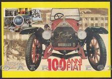 FIAT 04 100° ANNIVERSARIO - 1999 - FIAT ZERO - AUTOMOBILE D'EPOCA Cartolina