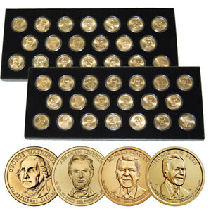 Complete Uncirculated Presidential Dollar Collection (2007-2020)