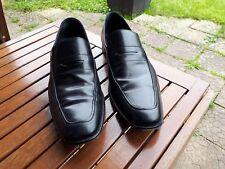 HUGO BOSS.Chaussures.Shoes.Mocassin.44.NOIR.Trés bon état.