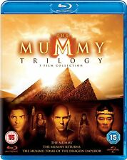 THE MUMMY TRILOGY [Blu-ray Set] 3 Film Collection 1-3 All Movies Returns/Dragon