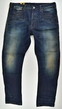 G-star Raw Davin 3D Loose Tappered oscuro envejecido Blight vaqueros W38